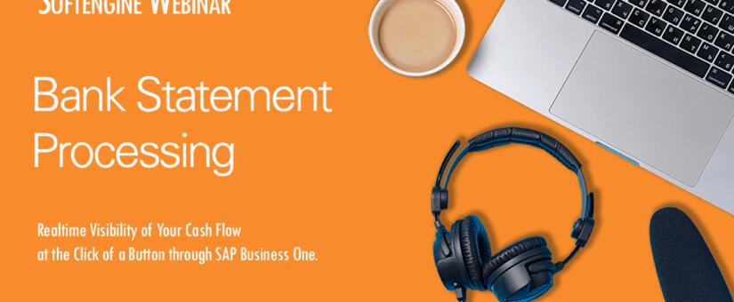 WEBINAR: Bank Statement Processing
