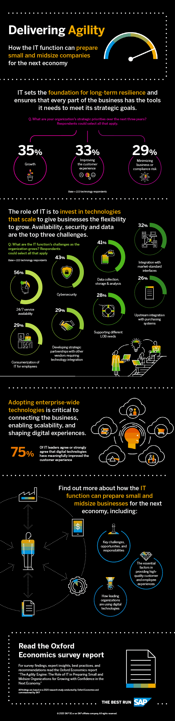 SAP Business One Infographic for the CIO